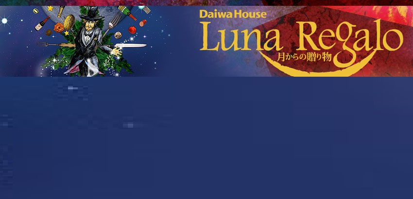 """【2010】ルナ・レガーロの意味は""""月からの贈り物""""高級料理付きのシルクドゥソレイユ@中之島"""