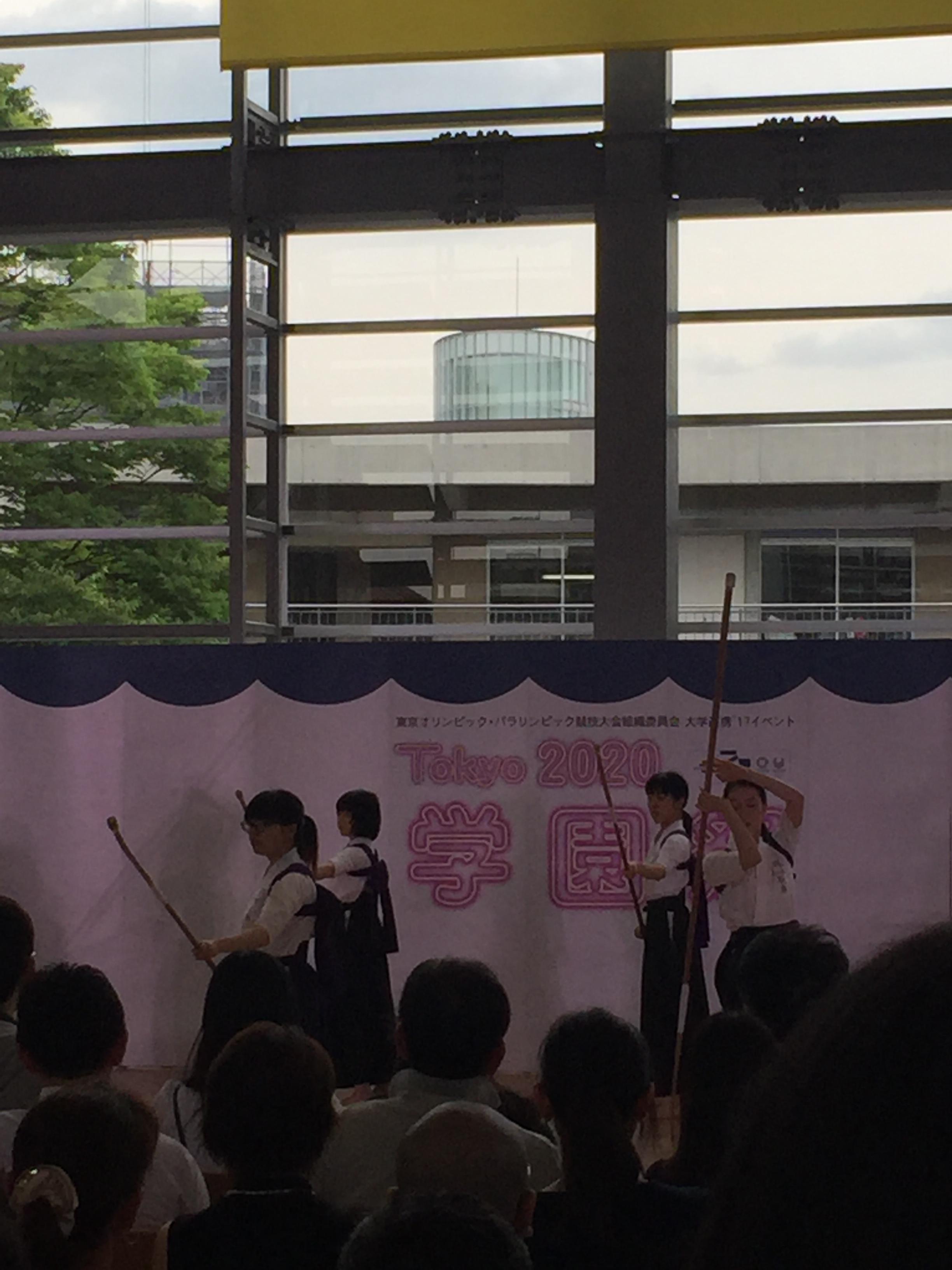 【2018】学生たちによる、Tokyo 2020学園祭 オリンピックパフォーマンス@明治学院大学白金キャンパス