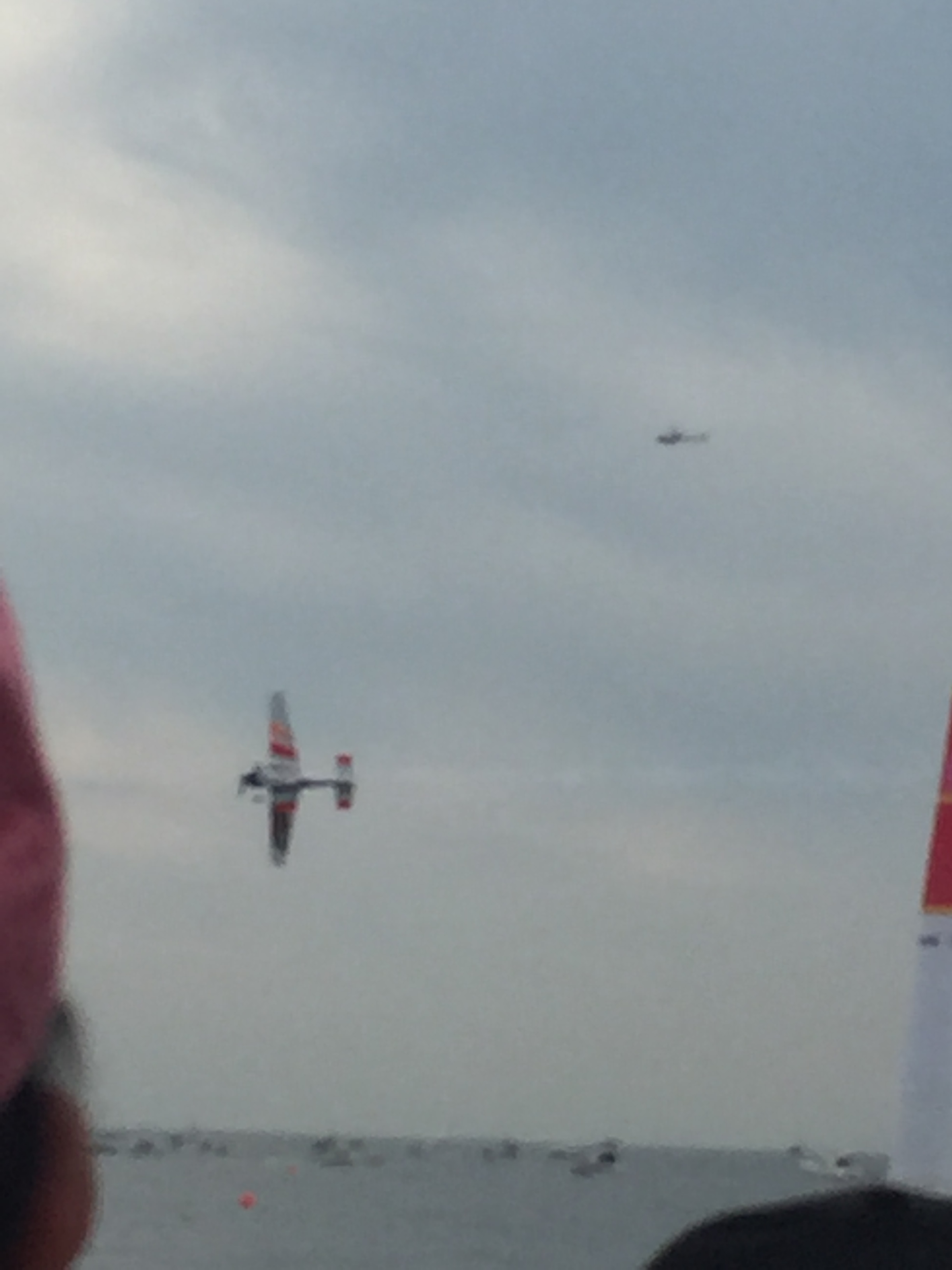 Red Bull Air race in 千葉、室屋選手がエアレース1位を初めて獲得@幕張