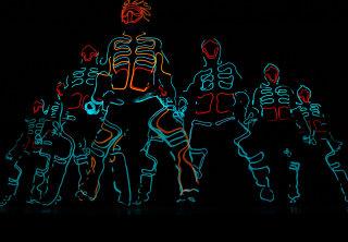 【208-2019】EL SQUAD JAPAN TOUR PANDEMIC LIGHTS docomoのCMで観たことあるはず!暗闇で光るダンスパフォーマー軍団@三重/香川/京都/福井 観光