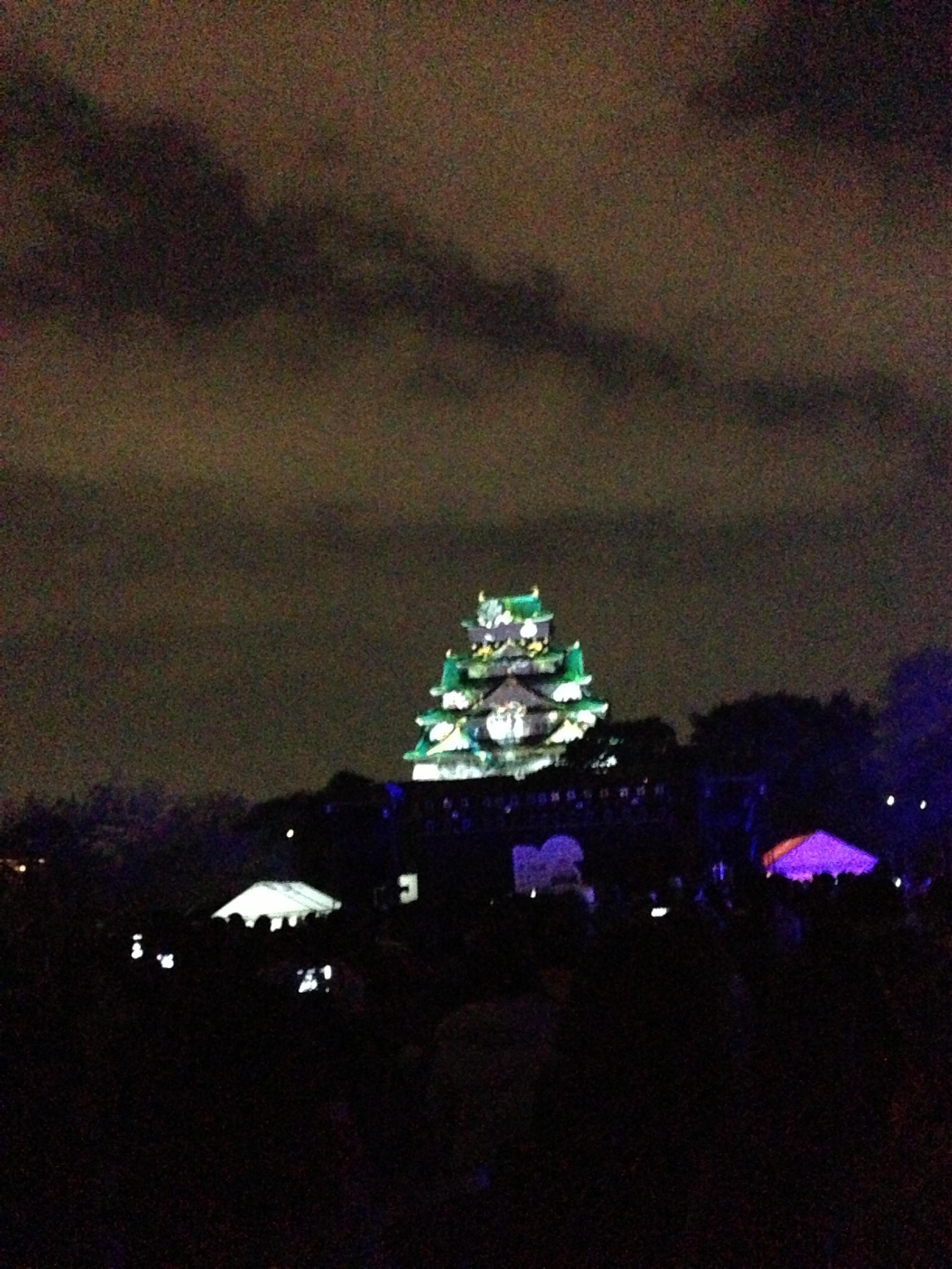 【2013】プロジェクションマッピングとイルミネーション、大阪城年越しイベント@大阪