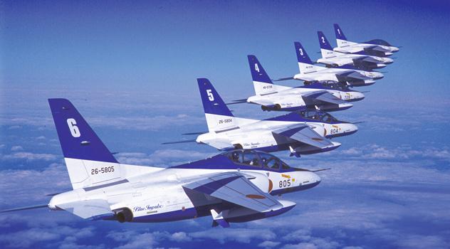 ブルーインパルス編隊飛行、ブルーインパルスの速度は?機体情報、過去の事故情報は?@みなとみらい