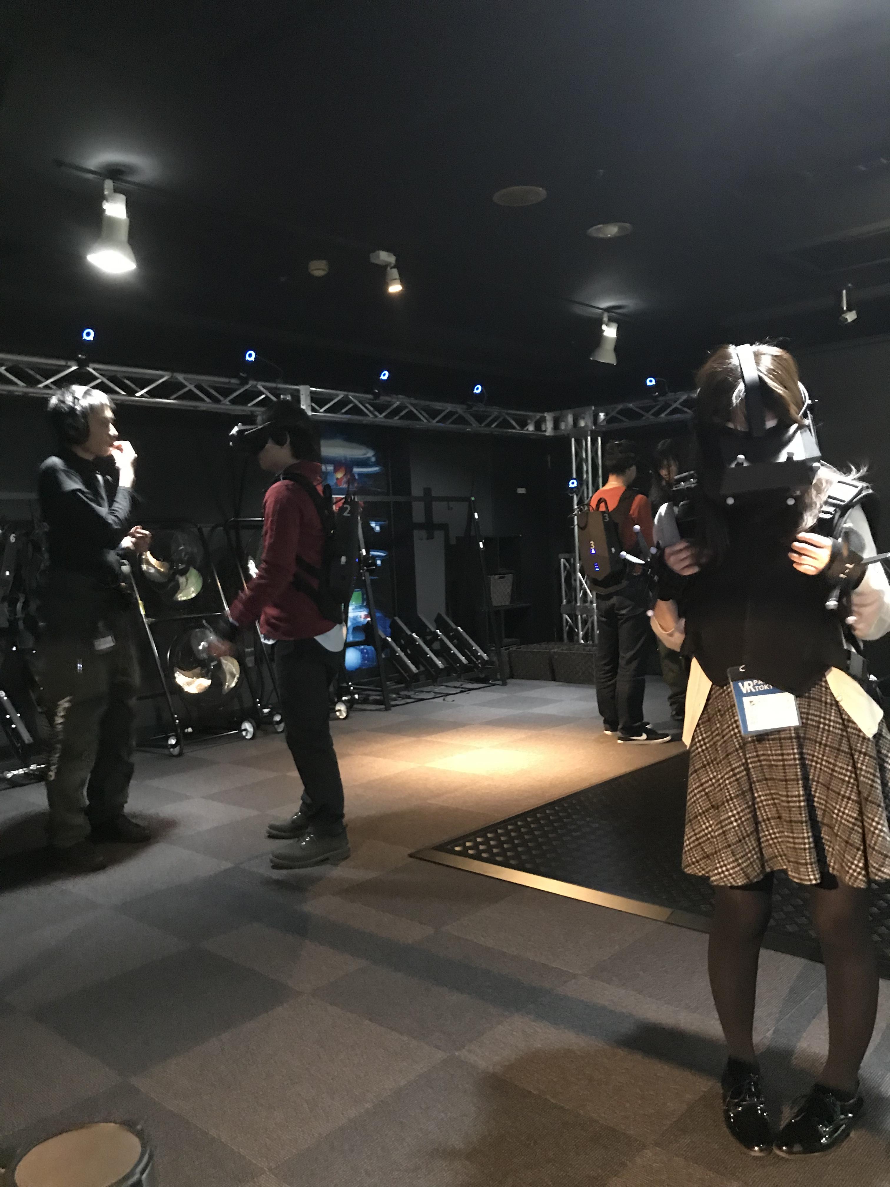 【2017】個人的No1 VR施設、VR PARK TOKYO@池袋