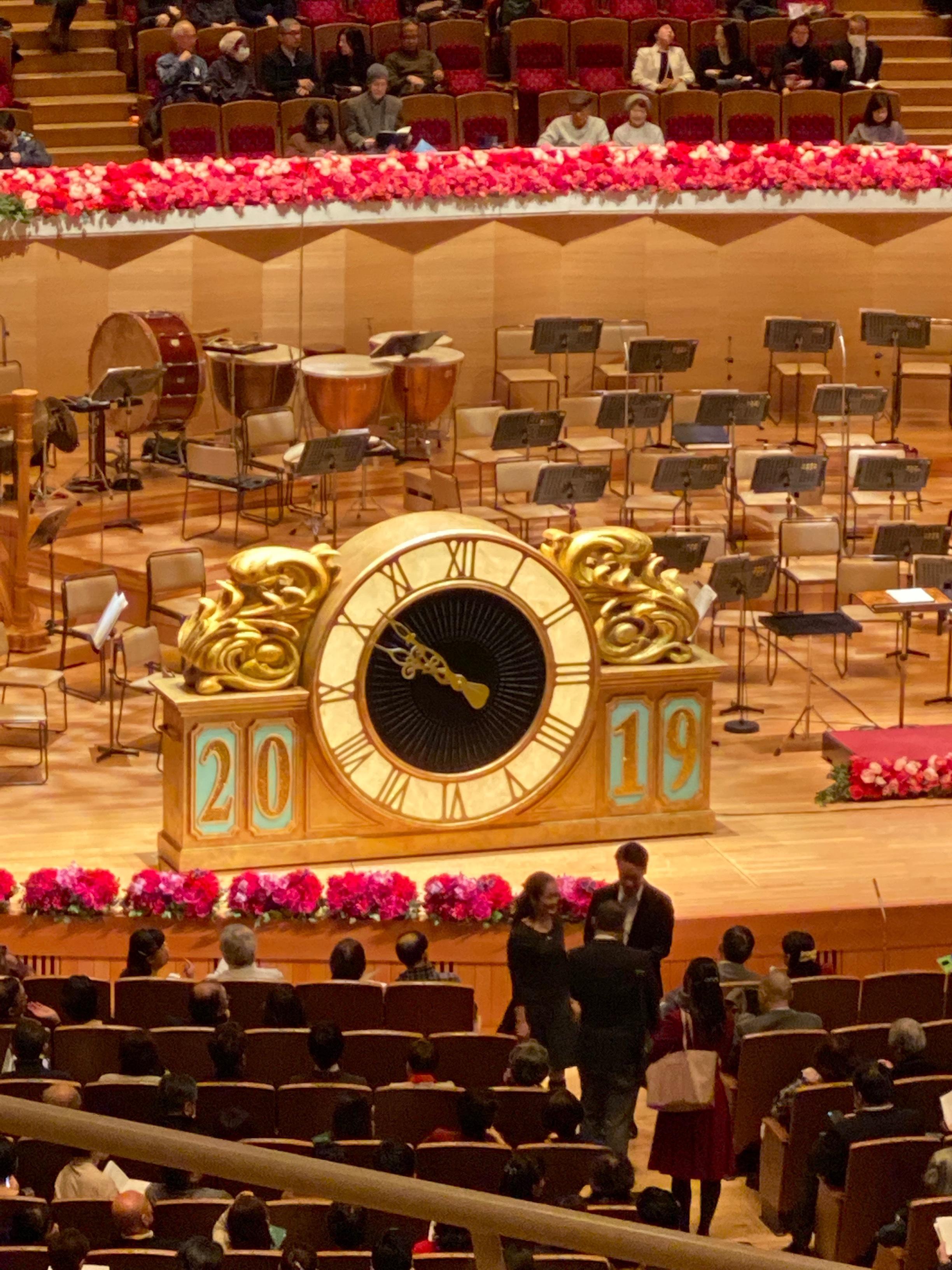 年越しのコンサート、ジルヴェスターコンサート2019-2020行ってきました。そのまま明治神宮の初詣に@サントリーホール